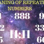 You see repeated Numbers