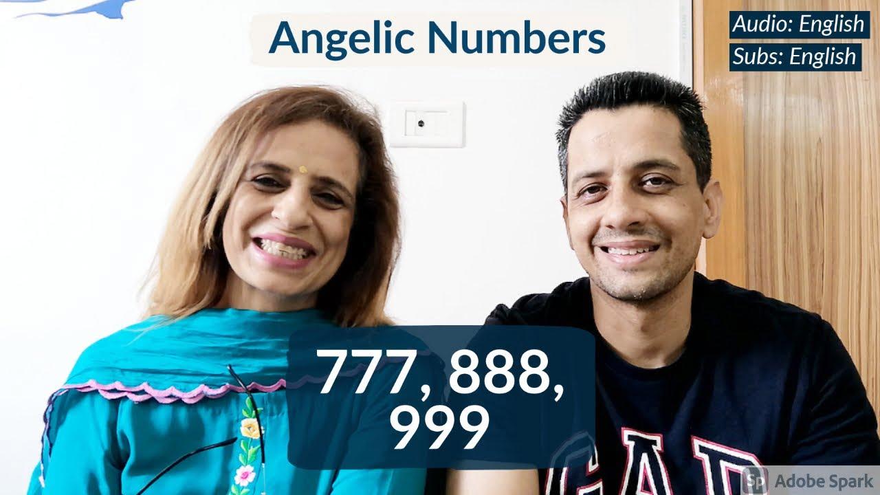 ENGLISH Angelic Numbers 777 888 999
